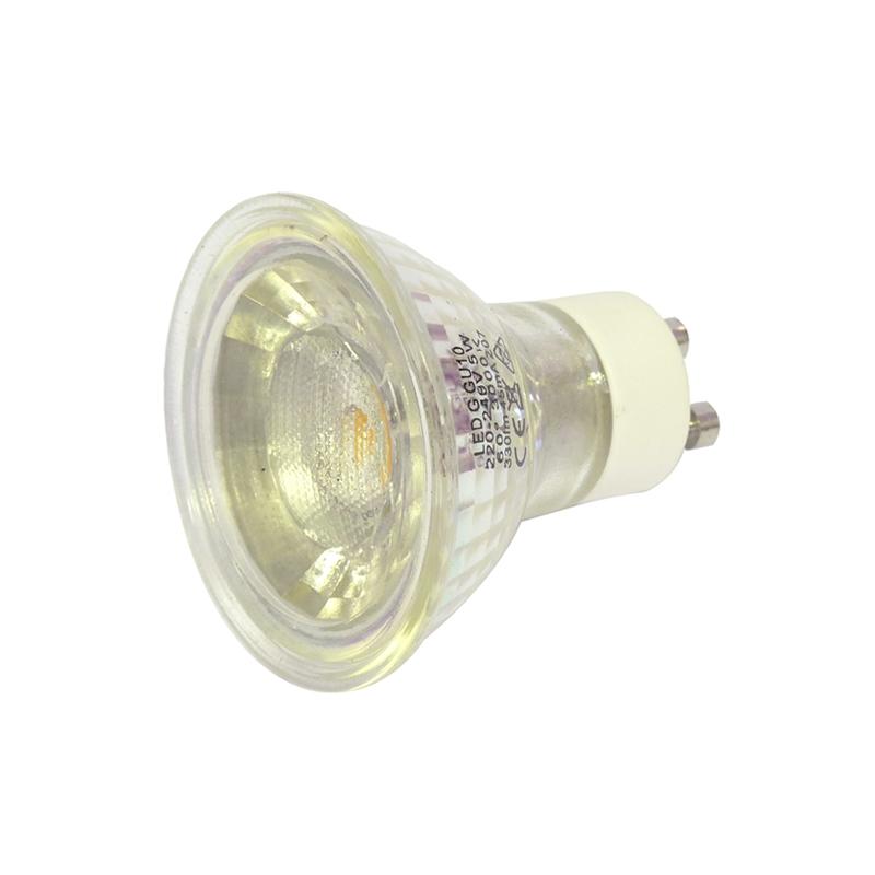 5 Watt GU10 Warm White LED Bulb Halogen Replacement