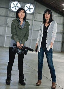 Euna Lee and Laura Ling -- via One Free Korea