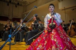 Haegum (Korean 4-string fiddle) player Nam Un Ha, age 25, prepares for her Paris debut | Image via Demotix, click image for gallery
