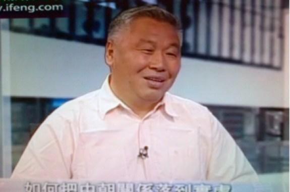 Zhang Liangui (张琏瑰) on Phoenix TV, May 24, 2012