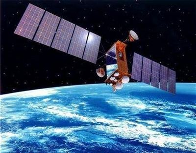 A spy satellite, spying. Ineffectively? | image via Top Secret Writers