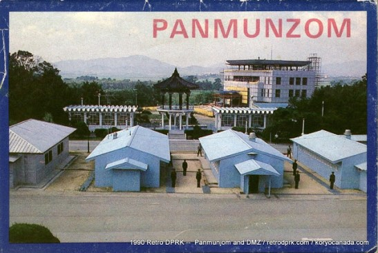 The symbol of division: Panmunjom and the DMZ in days of yore | image via RetroDPRK