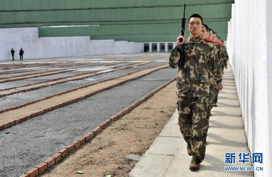 Chinese Border Guards Training near the DPRK, March 25, 2012.