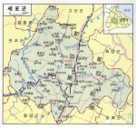 Sepho County, which lies in mountainous central North Korean Gangwon Province | image via Naver