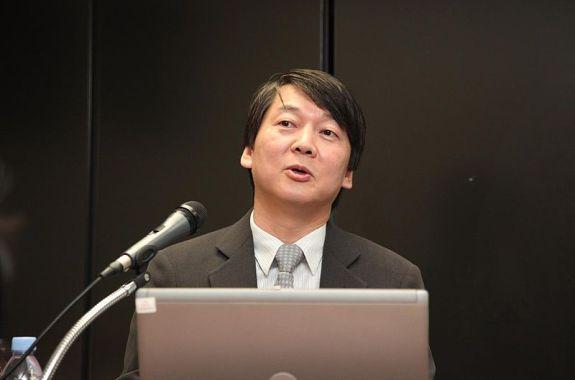 "Ahn Choel-soo, South Korea's charismatic leader of ""새정치연합"" (""New Political Party"") | Image: Jinho Jung/Wikipedia, Creative Commons 2.0"