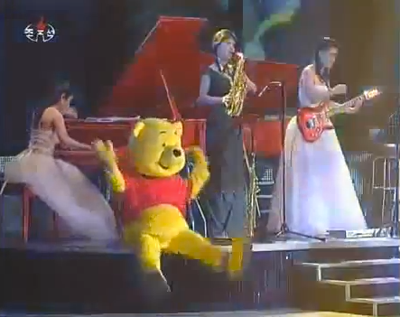 "Winnie the Pooh and Moranbong, too: ""Cultural hybridity"" in the DPRK 