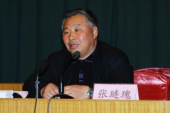 Professor Zhang Liangui of the Central Party School, the International Institute for Strategic Studies. | Image: people.com.cn
