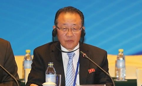 Kim Kye-gwan in Beijing on September 18, singularly failing to impress the Chinese | Image: CRI Online