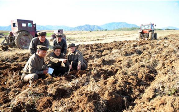 South Hamgyong Provincial Brigade at Sepho | Image: Rodong Sinmun