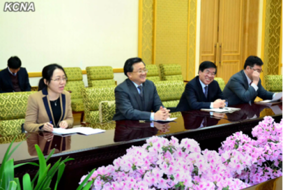 Chinese Foreign Ministry delegation visits DPRK to discuss regional security and six-party talks, February 21, 2014   KCNA