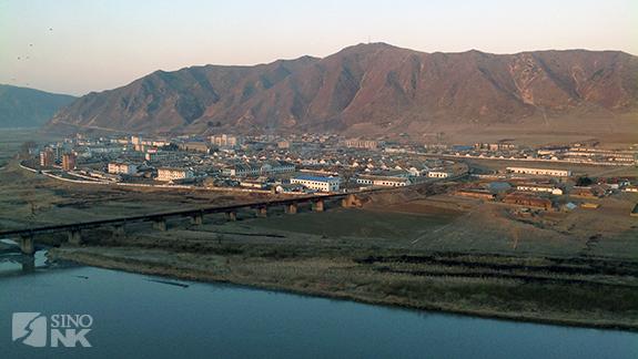 The Sino-North Korean border at Tumen-Namyang | Image: Steven Denney/Sino-NK