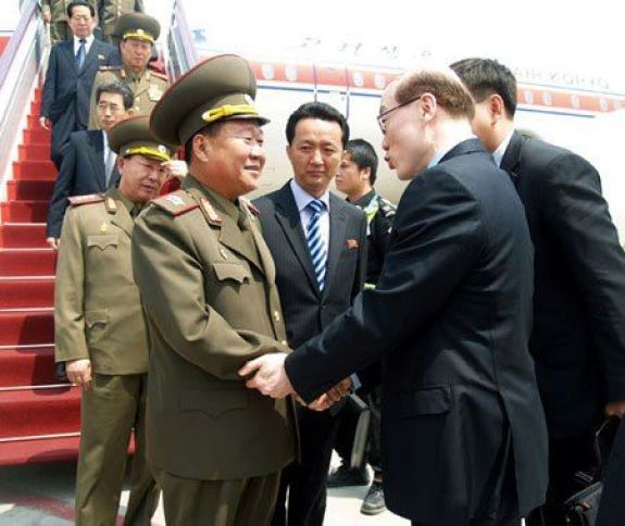 Choe Ryong-hae back in his military daysi | Image: Rodong Sinmun