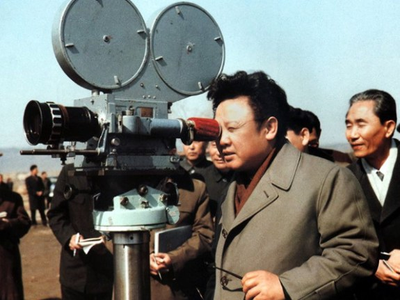 Kim jong-il man with a movie camera