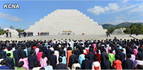 The Mausoleum of Tangun, the alleged progenitor of the Korean nation. | Image: KCNA