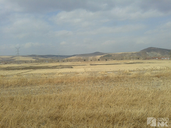 The View from the Train Tracks about 3 km west of Yanji, March 17, 2012 | Image: Adam Cathcart/Sino-NK