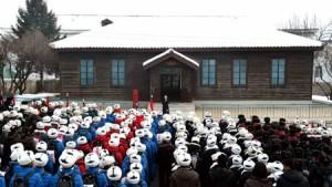 Schoolchildren visit Kangyye