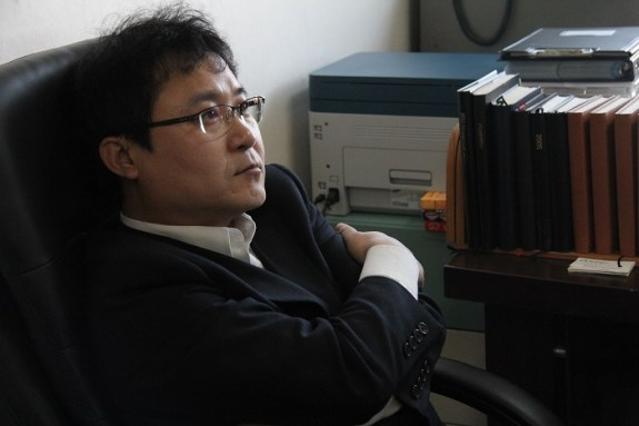 Jang Jin-sung | Image: Auckland Writers Festival