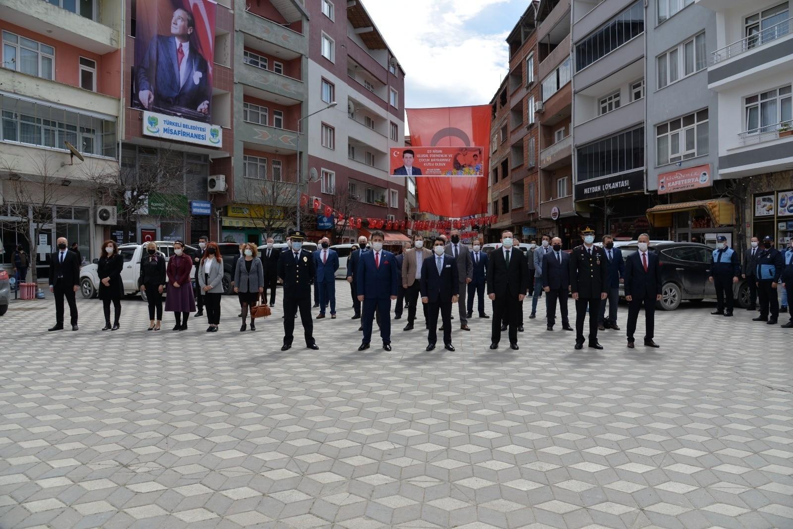 Türkeli'de 23 Nisan töreni