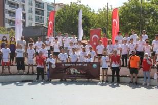 Sinop'ta 15 Temmuz şehitleri için koştular