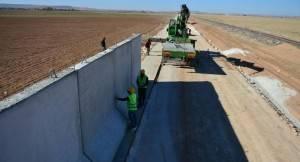 Turcia își face zid de protecție