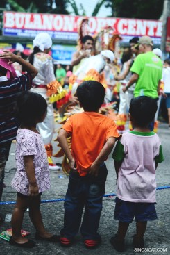 Children at the Bacolod Masskara 2014 Street Dance Competition