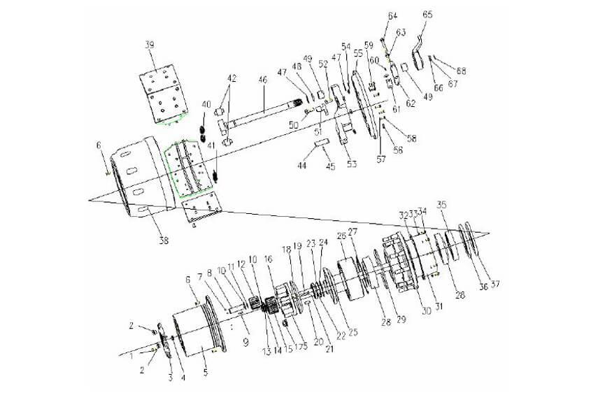 ST16 Axle Wheel Hub & Brake, Sinotruk Spare Parts Catalog