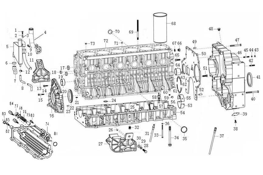 HOWO Engine Catalogue-Parts Catalogues-SINOTRUK-China