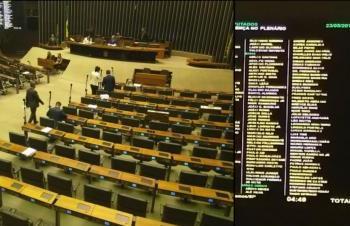 Deputados fingem presença na Câmara e 'vazam' para os seus Estados
