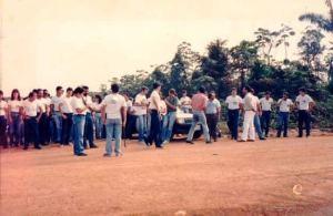 Turma de 1988 na Academia de Polícia Delegado Luiz Glaysmam