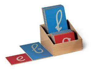 apprendre à lire et à écrire avant 6 ans avec les lettres rugueuses