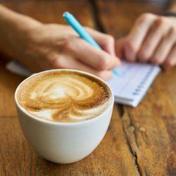 café au petit matin