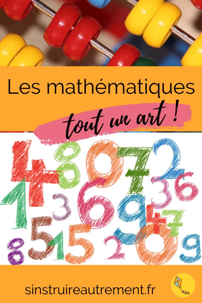 Pourquoi mathématiques avec un S ? Dans cet article, découvre les Arts mathématiques !
