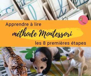 Apprendre à lire selon la méthode Montessori : les 8 premières étapes