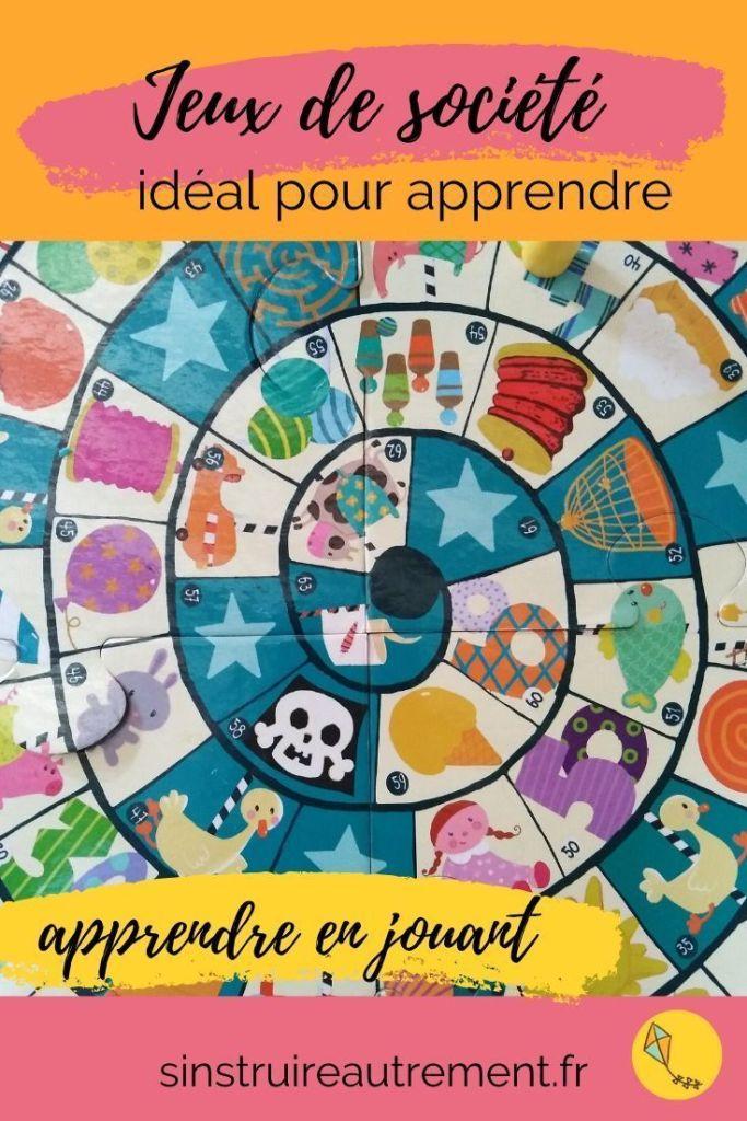 Apprendre en jouant aux jeux de société : une très bonne façon de garder la motivation des enfants pour les apprentissages !  Mes conseils dans cet article.