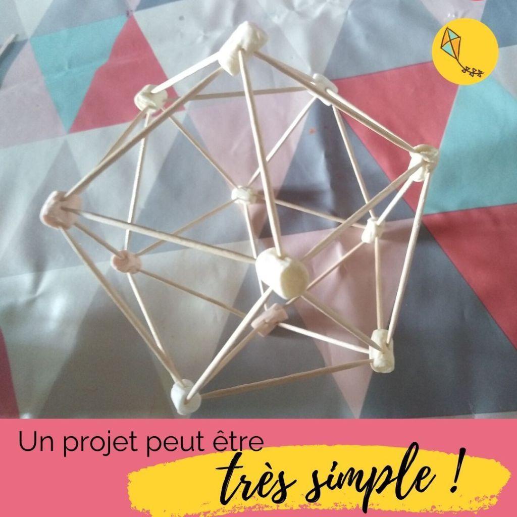 Un projet conçu par les enfants peut prendre une heure comme un mois !