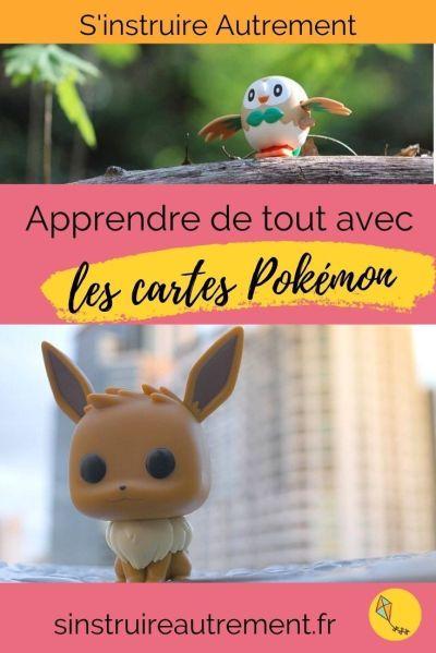 Apprendre avec les cartes Pokémon : Français et maths au rendez-vous !