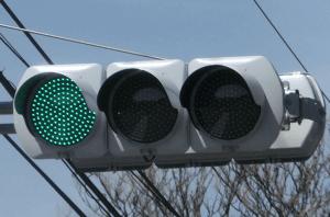 信号無視 青信号の意味