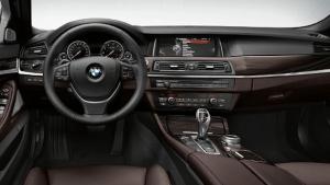 BMW523dの内装画像
