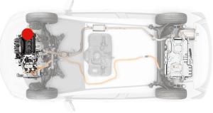 ホンダフィットのDAA-GP5エンジンとシステム