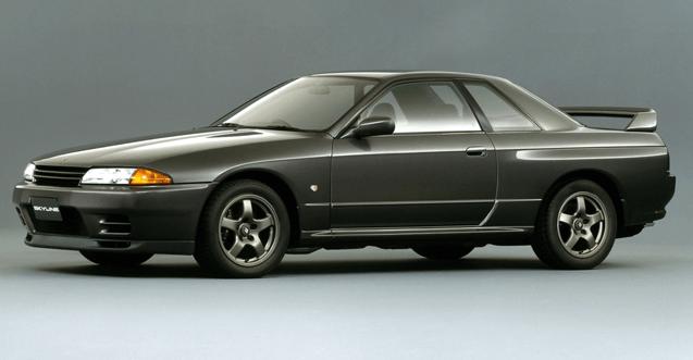 日産スカイラインR32型GT-R