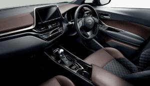 トヨタC-HRの内装画像(インテリア)