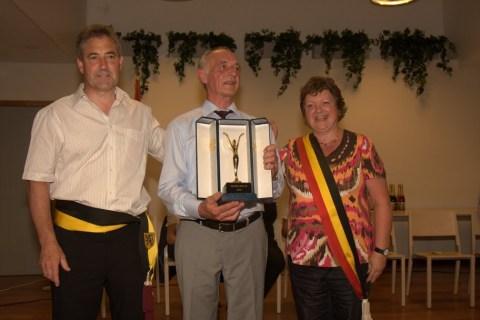 Omer Walravens wint de Sportleeuw 2010