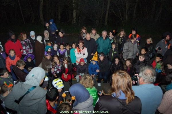 Halloween lichtstoet Ruisbroek