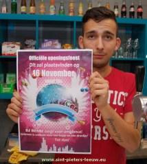 """Bruno Hammou:"""" Iedereen is zaterdagavond welkom voor een hapje en een drankje. DJ Henri zorgt voor ambiance."""""""