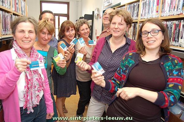 De medewerkers van de bibliotheek van Sint-Pieters-Leeuw