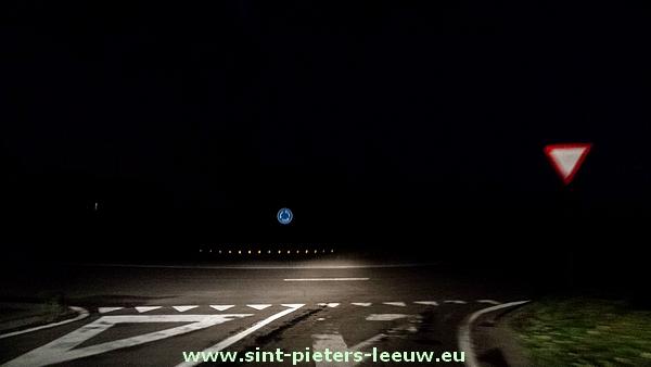 Toeval of niet gisterenavond (6/8/14) werkte de openbare verlichting niet op een groot stuk van de Bergensesteenweg - N6