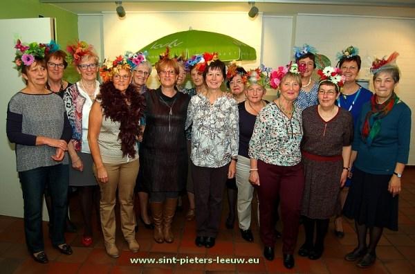 Het bestuur van KVLV Vlezenbeek