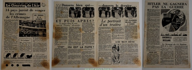 2019-07-24-pamflet-strooibrief_2de_Wereldoorlog_22-06-1941_le_courier_de_l-air