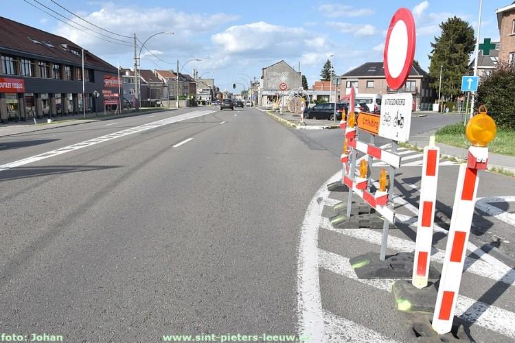 2019-08-10-voorbereidende werken Bergensesteenweg_Georges Wittouckstraat_01