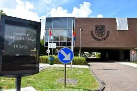 gemeentehuis Sint-Pieters-Leeuw tijdens coronacrisis